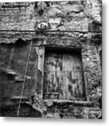 Partly Covered - Venice Metal Print
