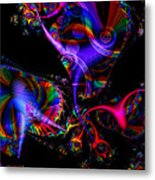 Party All The Time Metal Print