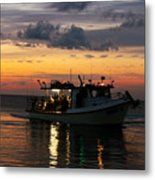 Party Boat Metal Print