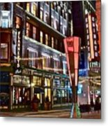Party In Cleveland Metal Print