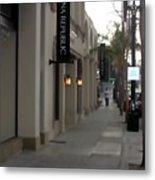 Pasadena Sidewalk 1093 Metal Print