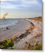 Pass A Grill Beach Florida Metal Print