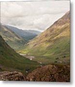 Pass Of Glencoe II Metal Print