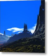 Pass Of Gormok Metal Print