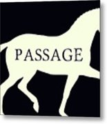 Passage Negative Metal Print