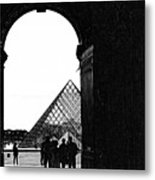 Passage To The Louvre Metal Print