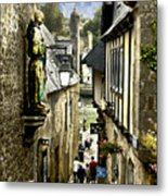 Passage To The Port Of St Goustan Metal Print
