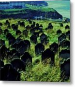 Passed Or Past Residents Of Whitby, Yorkshire Metal Print