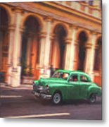 Passing By On El Prado 2 Metal Print