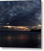 Passing Clouds In Big Sur Metal Print by Pierre Leclerc Photography