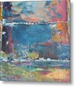 Passing Storm Metal Print by Chaline Ouellet