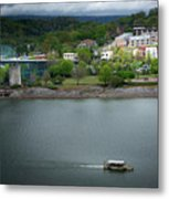 Passing Storm In Chattanooga Metal Print