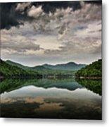 Passing Storm Over Lake Hiwassee Metal Print