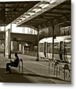 Passing The Time Again Metal Print