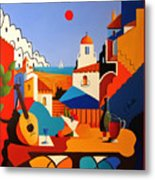 Passion For Life Spain Metal Print