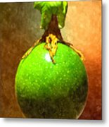 Great Passion Fruit Metal Print