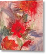 Passion In Three Metal Print