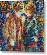 Passion Of The Cats  Metal Print