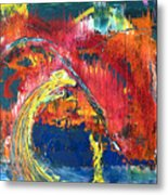 Passion Of The Summer Metal Print