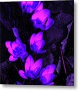 Passionate Blooms Metal Print