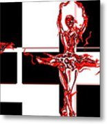 Passions Dance Across The Checkerboard Of Life Metal Print