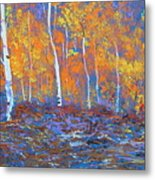 Passions Of Fall Metal Print