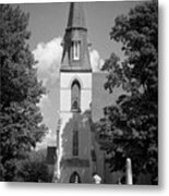 Past Congregation Metal Print