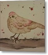 Pastel Bird Metal Print by Ginny Youngblood