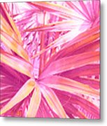 Pastel Dream In Pink Metal Print
