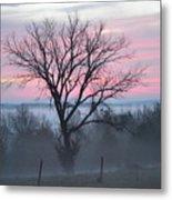 Pastel Fog Metal Print