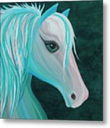 Pastel Horse Metal Print