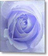 Pastel Purple Rose Flower Metal Print by Jennie Marie Schell