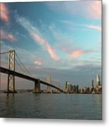 Pastel San Francisco Sunrise Metal Print