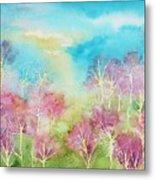Pastel Spring Metal Print