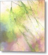 Pastel Spring Whispers Metal Print