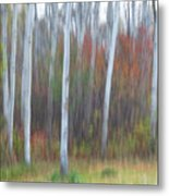 Pastel Tree Abstract Metal Print