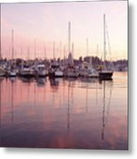 Pastel Waters Metal Print