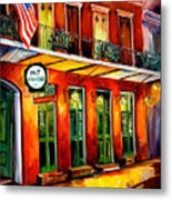 Pat O Briens Bar Metal Print