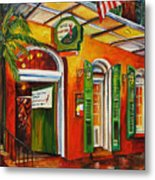Pat O'brien's Bar On Bourbon Street Metal Print