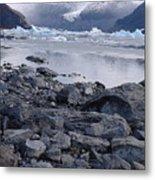 Patagonia Ice Metal Print