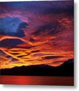 Patagonian Sunrise Metal Print