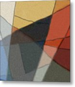 Patches In Harmony Abstract Metal Print