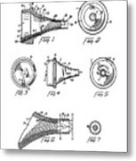 Patent Drawing For The 1962 Illuminating Means For Medical Instruments By W. C. More Etal Metal Print