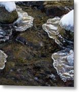 Path Through The Ice Metal Print