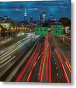 Path To And From Nyc Metal Print