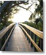 Path To Marco Island Beach Metal Print