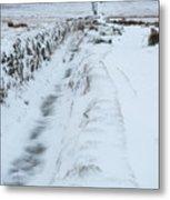 Path To South Hessary Tor IIi Metal Print