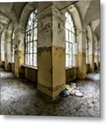 Pathway Around Insanity - Urban Exploration Metal Print