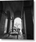Pathway To History In Rome Metal Print