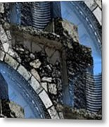 Pathway To Present Metal Print